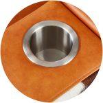 Moovia Cupholder Stainles Steel 150x150 - Moovia® Almacenamiento & Compartimento