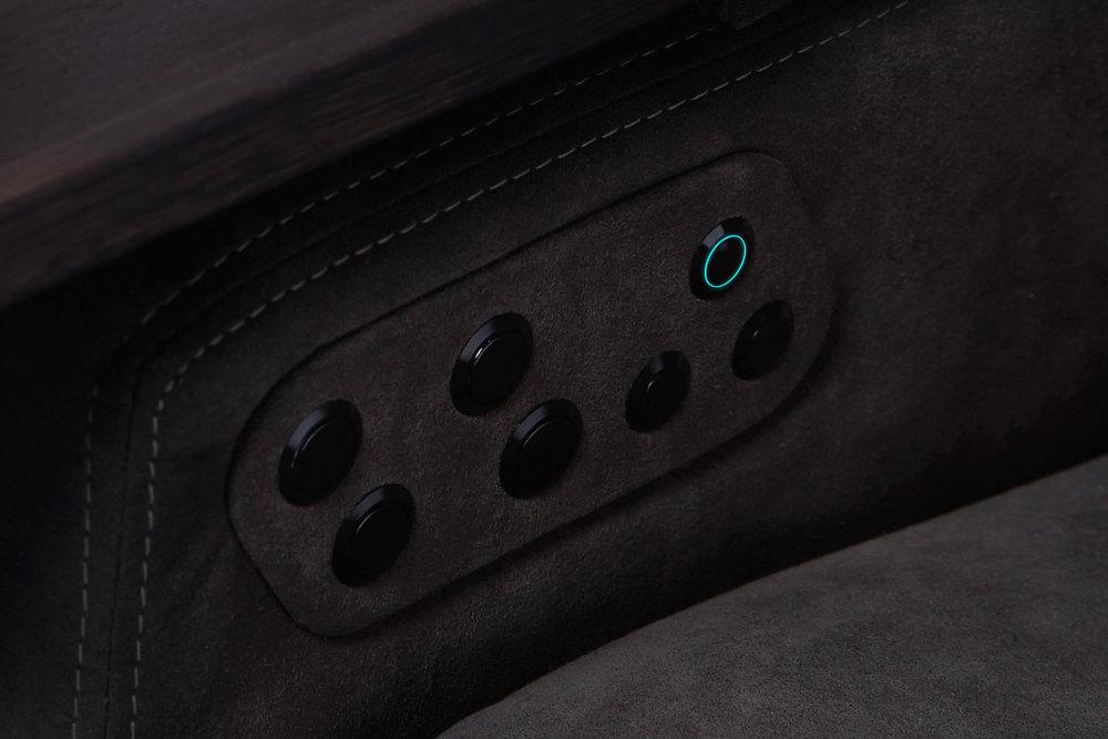 Moovia® Venice con botones de control decorativos