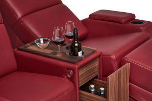 Moovia® Venice Chaise Butaca Lounge & Snack Bar