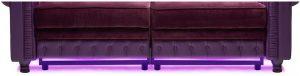 Moovia Chesterfield Sofa LEDs 300x76 - Moovia® Sofa Chesterfield